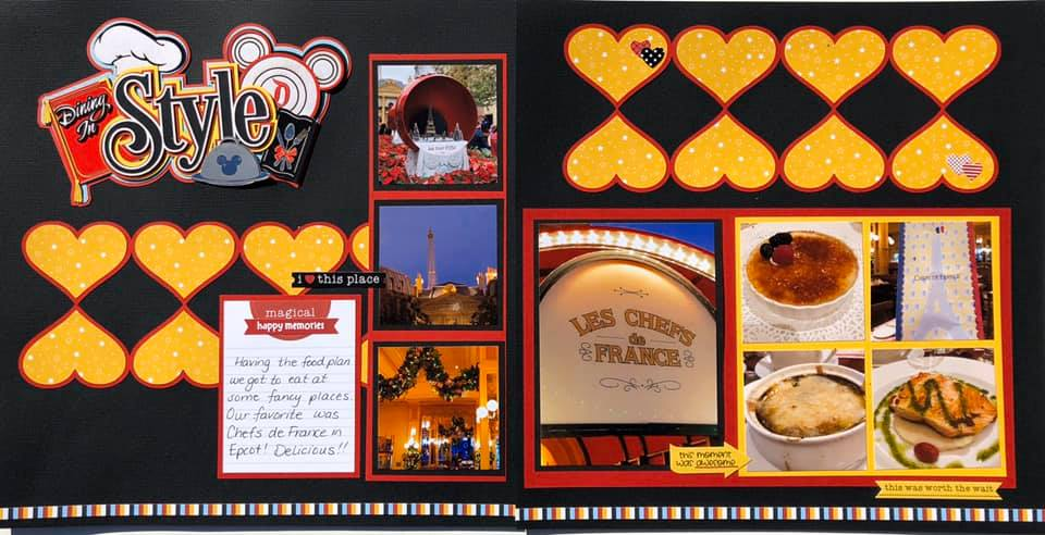 February Layout by Susan Ott
