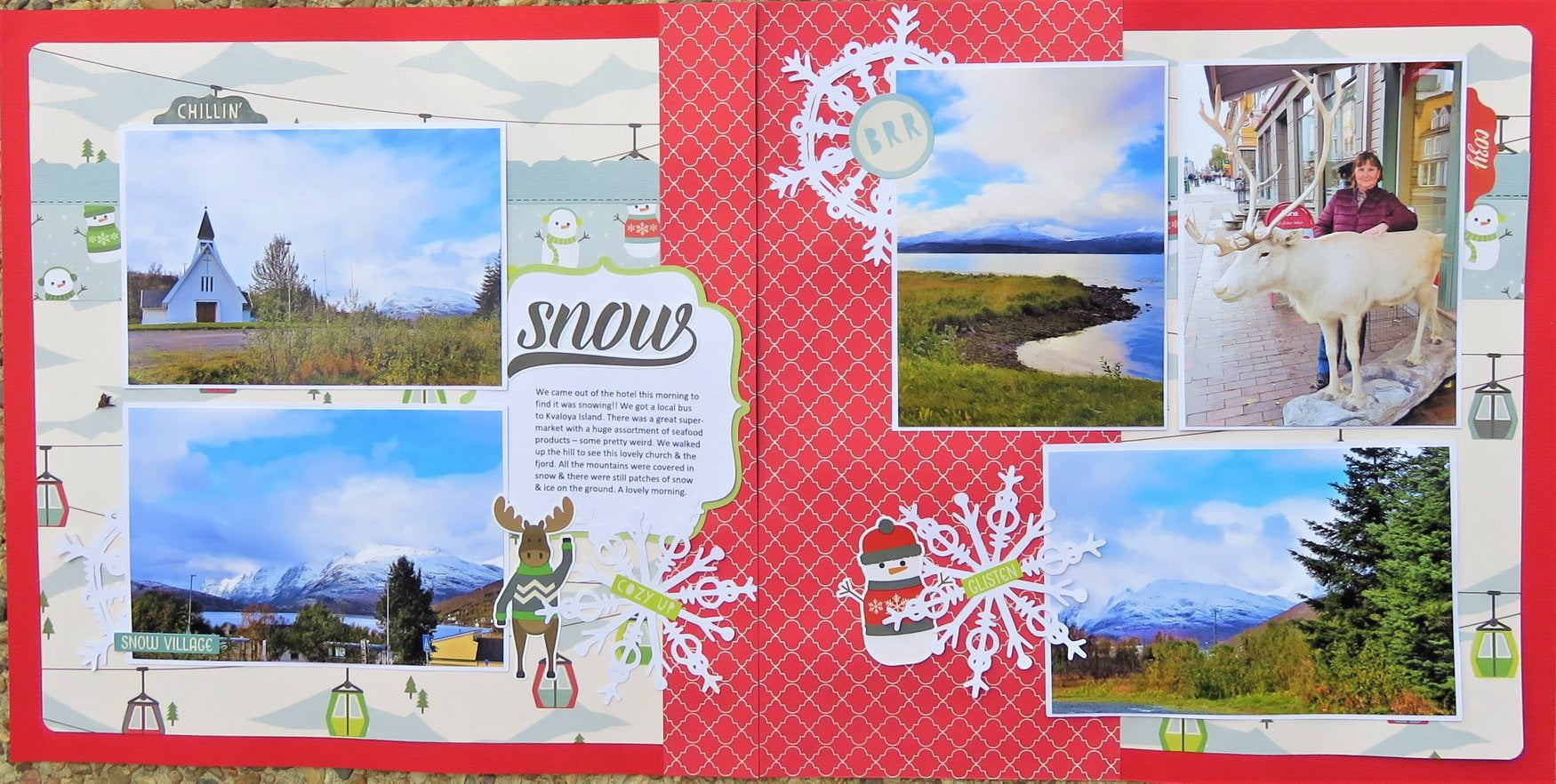 January Layout by Kerrie Tuni