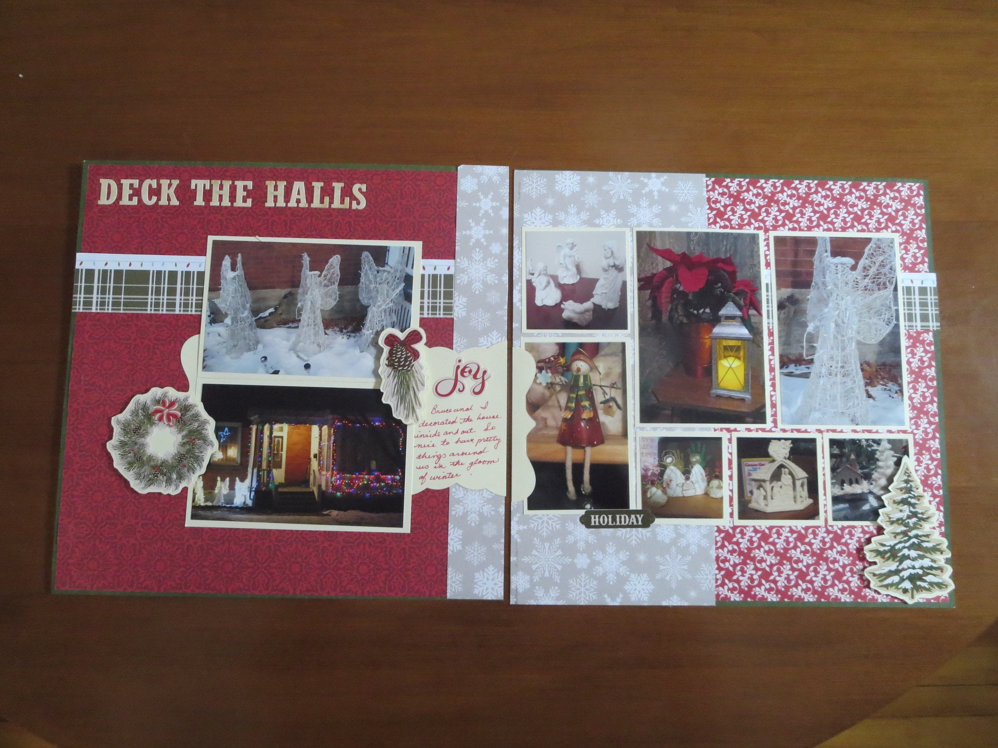 January Layout by Susan Irvine