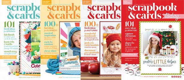 Scrapbook & Cards Today - 2019 - Previous Issues