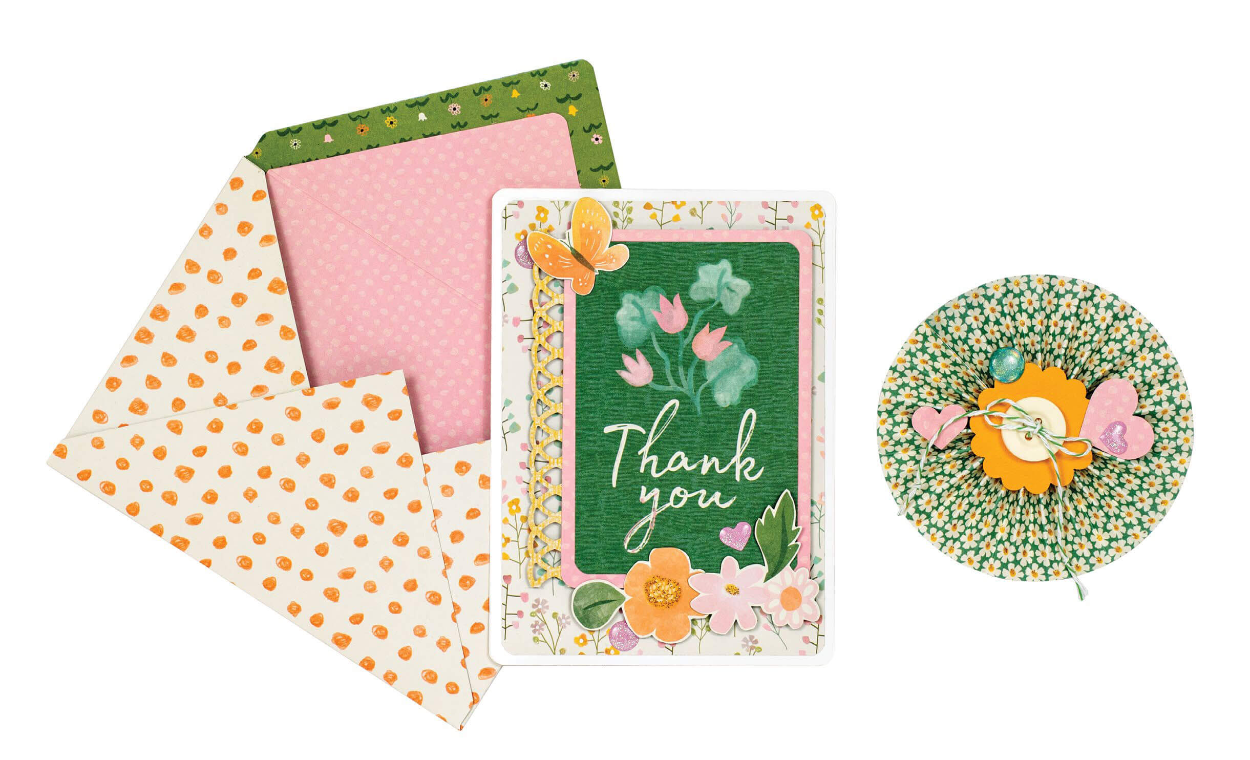 Scrapbook & Cards Today - Spring 2020 - Spring Celebration Ensemble by Meghann Andrew