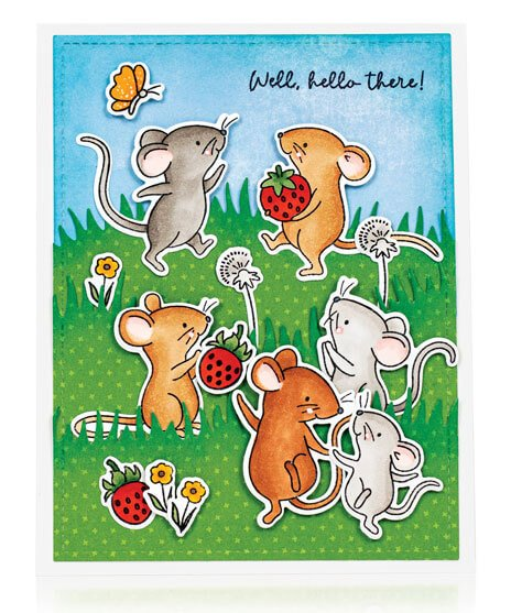 Scrapbook & Cards Today - Spring 2020 - Well Hello There card by Elise Constable