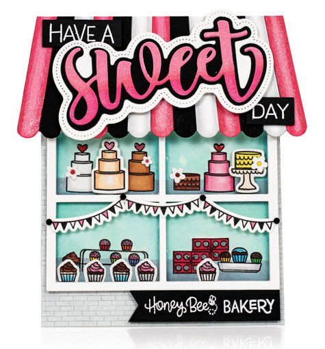 Scrapbook & Cards Today - Spring 2020 - Have A Sweet Day card by Ilda Dias
