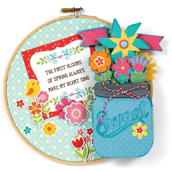 Scrapbook & Cards Today - Spring 2020 - First Blooms by Cathy Harper