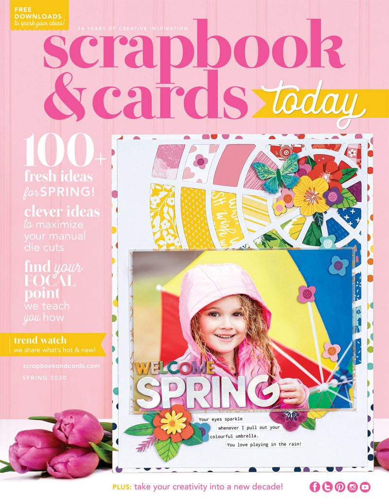 Scrapbook & Cards Today - Spring 2020