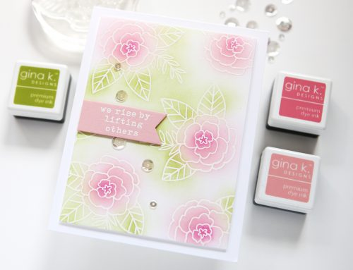Clean & Simple with Cathy Z.: Simple Emboss Resist Card Project + Video Tutorial