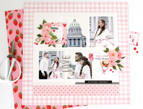 Oh Happy Day Inspiration with Anya Lunchenko and Echo Park Paper!
