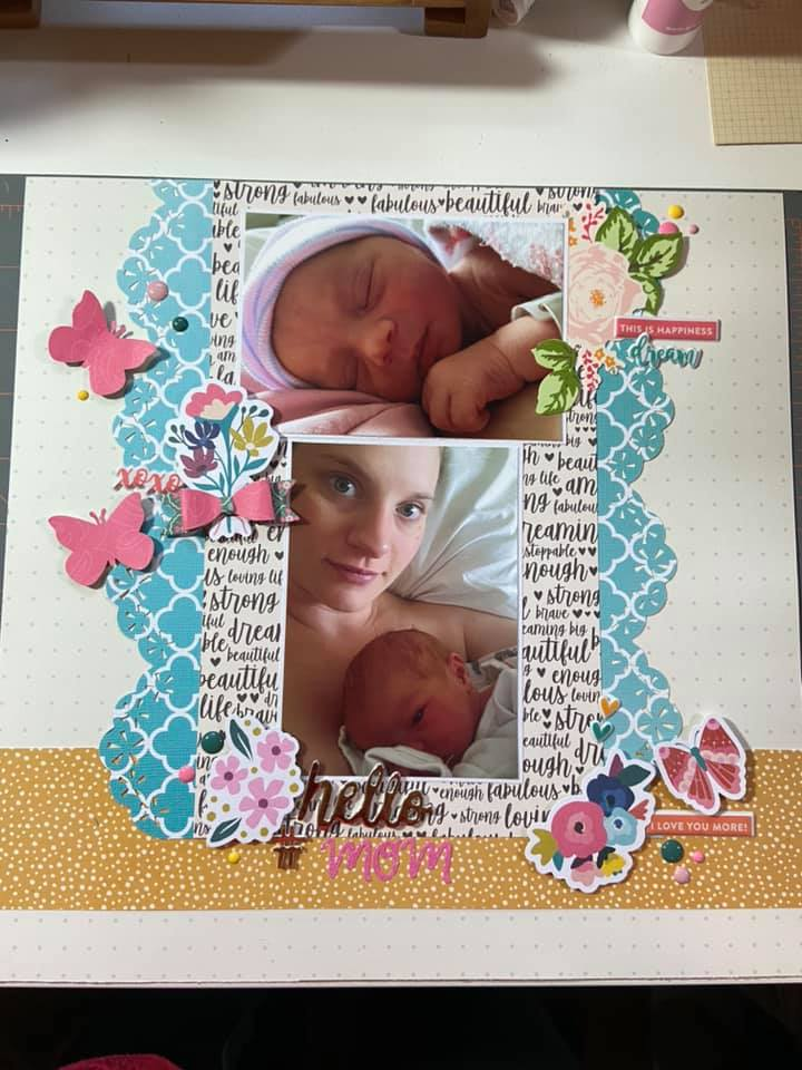 Layout by Maria Tomlin