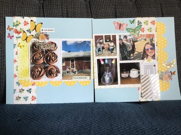 Layout by Sharon Gosling