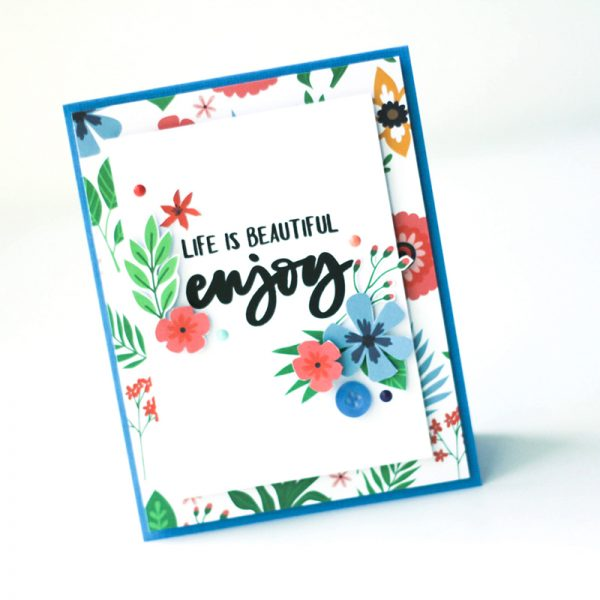SCT Delivered Kit - Fun in the Sun - Enjoy card by Latisha Yoast
