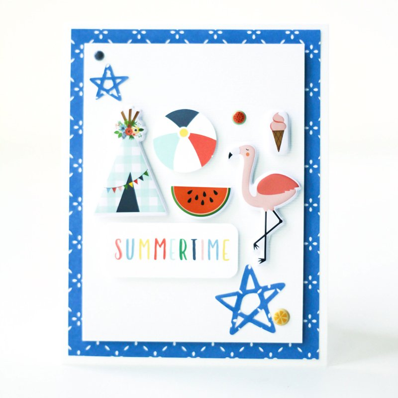SCT Delivered Kit - Fun in the Sun - Summertime card by Latisha Yoast