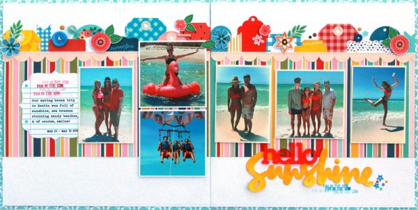 SCT Delivered Kit - Fun in the Sun - Hello Sunshine by Lisa Dickinson