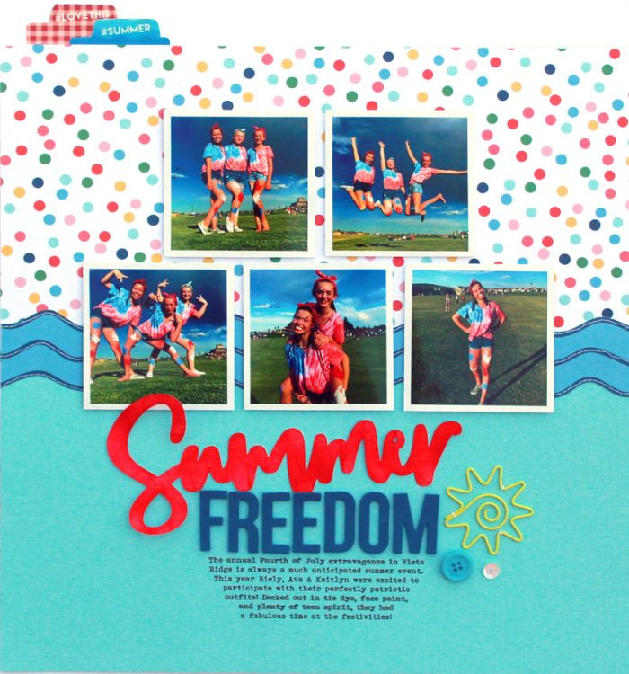 SCT Delivered Kit - Fun in the Sun - Summer Freedom by Lisa Dickinson