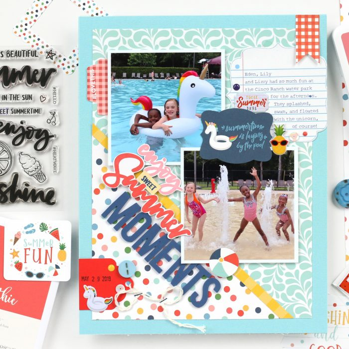 SCT Delivered Kit - Fun in the Sun - Summer Moments by Meghann Andrew