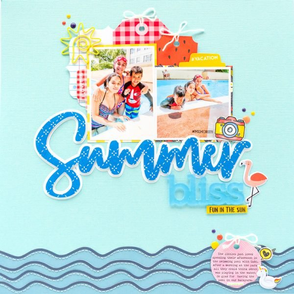 SCT Delivered Kit - Fun in the Sun - Summer Bliss by Nathalie DeSousa