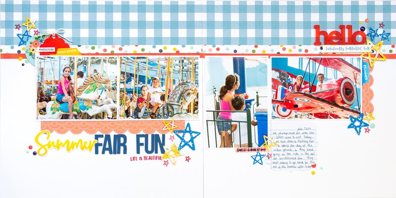 SCT Delivered Kit - Fun in the Sun - Summer Fair Fun by Nathalie DeSousa