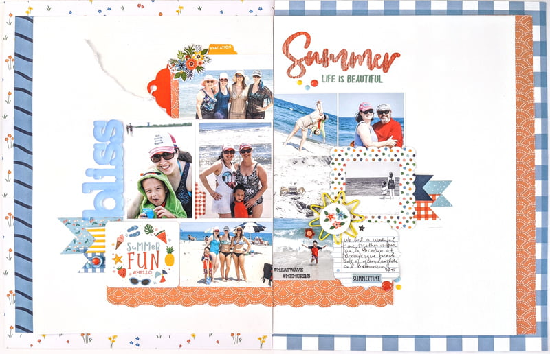 SCT Delivered Kit - Fun in the Sun - Summer Bliss by Nicole Martel