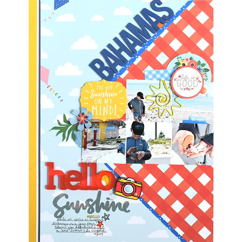 SCT Delivered Kit - Fun in the Sun - Hello Sunshine by Nicole Martel