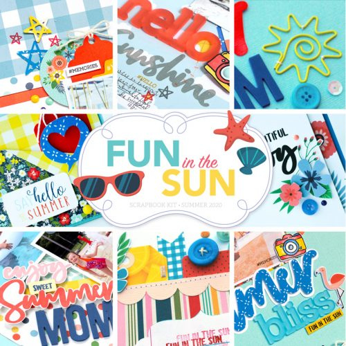 SCT Delivered Kits - Fun in the Sun Scrapbook Kit