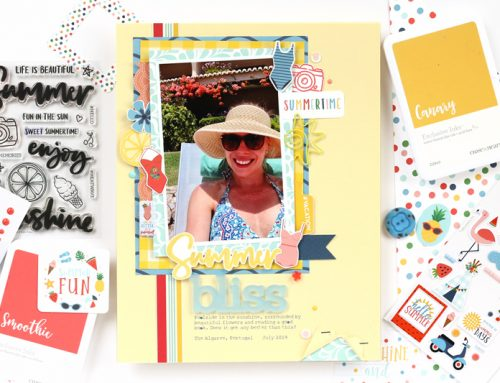 Summer Bliss Documented with the Fun in the Sun Kit and Meghann Andrew!