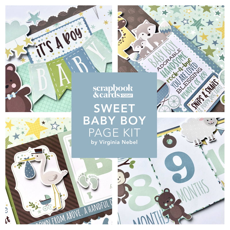 SCT Sweet Baby Boy Layout Kit