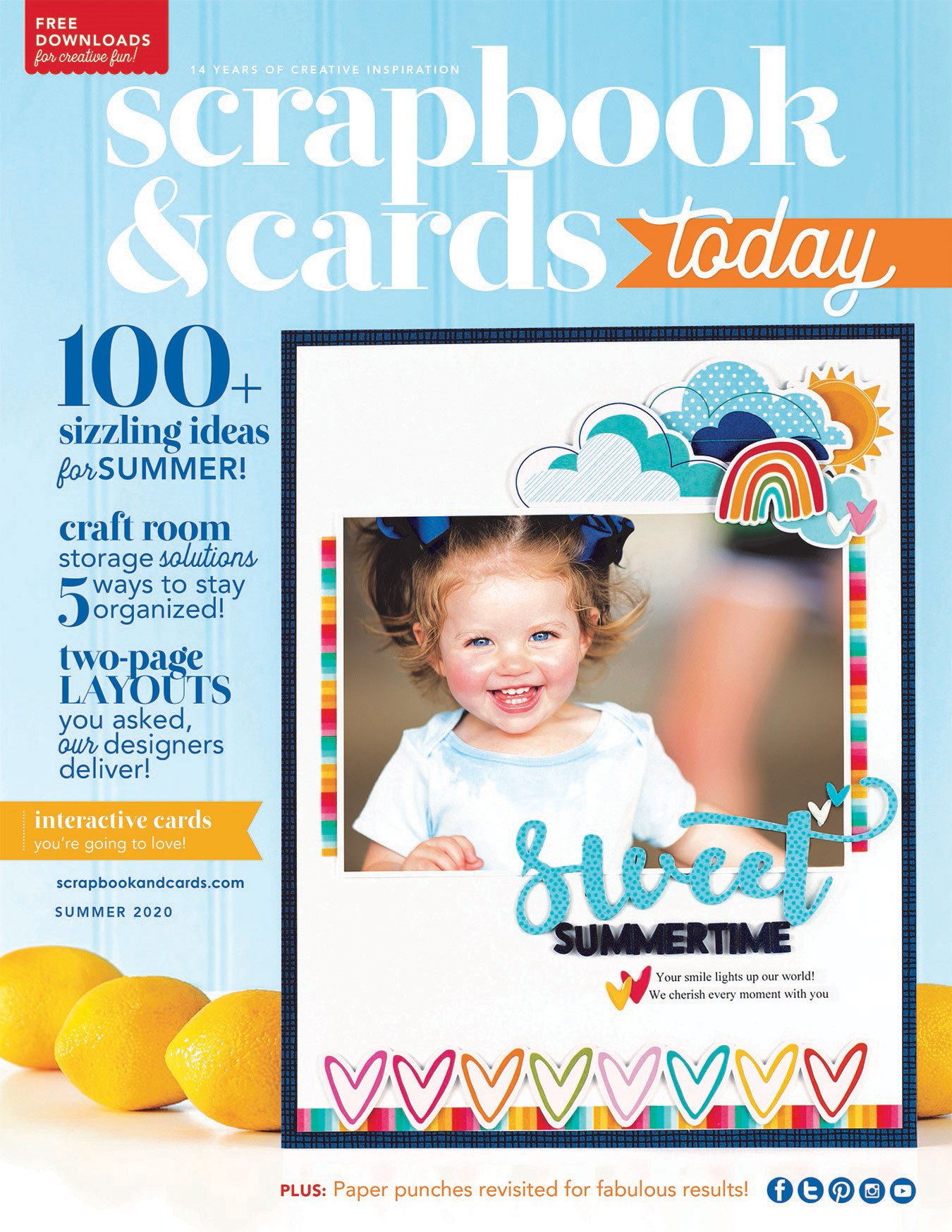 Scrapbook & Cards Today magazine - Summer 2020 Issue