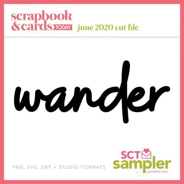 SCT Sampler - June 2020 Free Cut File