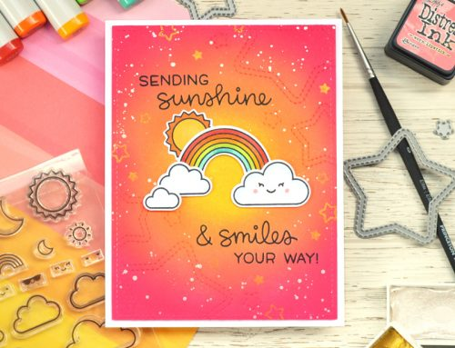 Sending Sunshine & Smiles with Guest Designer Chari Moss!