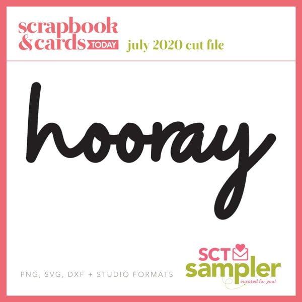 SCT Sampler July 2020 Cut File