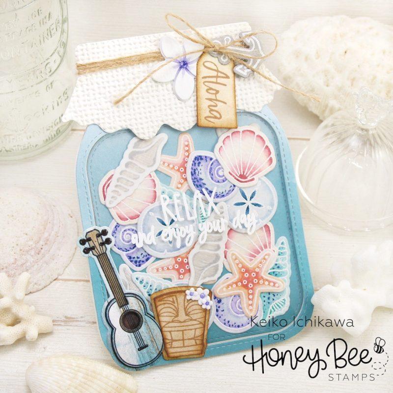 SCT magazine Honey Bee Stamps Keiko Ichikawa
