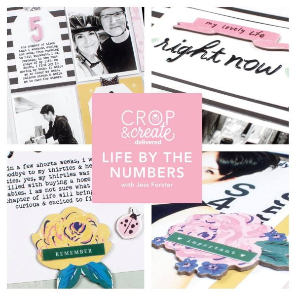 By The Numbers: Life Lists workshop with Jess Forster