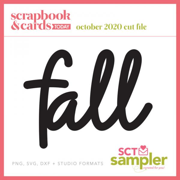 SCT Sampler - October 2020 - Fall Cut FIle