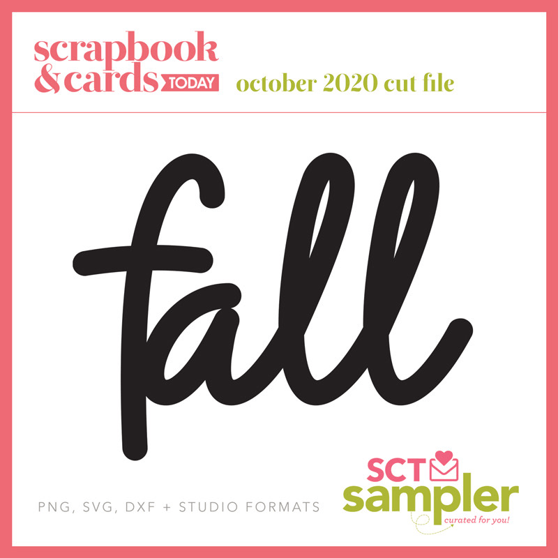 SCT Sampler - October 2020 - Fall Cut FIle
