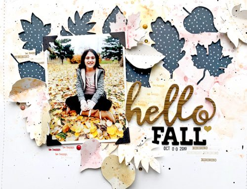 October Free Cut File with Nicole Nowosad!