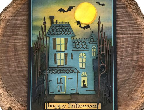 Spooky Greetings with Scrapbook Adhesives by 3L!