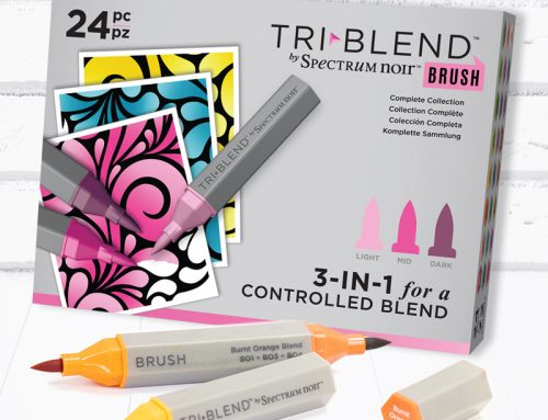 A Spectrum Noir TriBlend Giveaway from Crafter's Companion