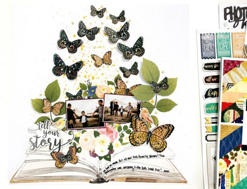 Teach Me Tuesday: Creating Dimensional Embellishments with Erica Thompson!