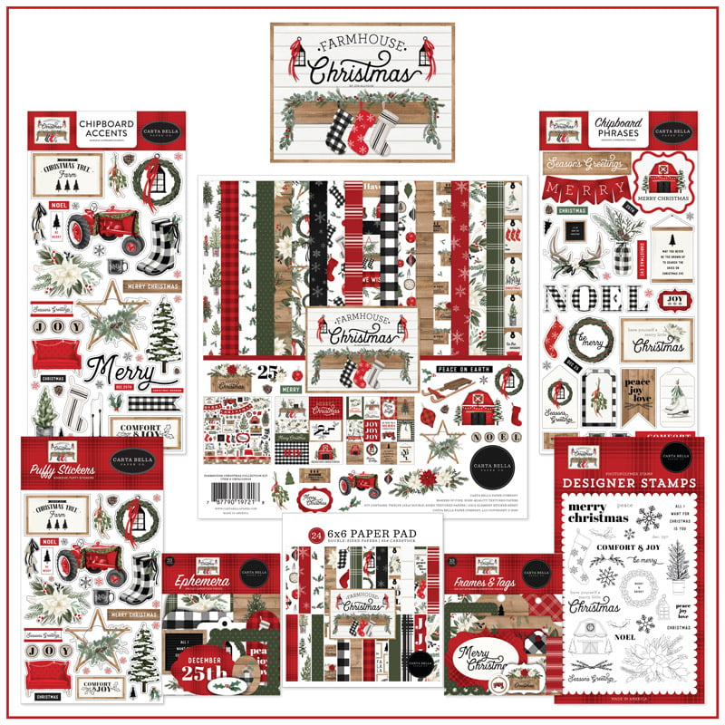 SCT-Magazine-Echo-Park-Paper-Carta-Bella-Farmhouse-Christmas-Giveaway