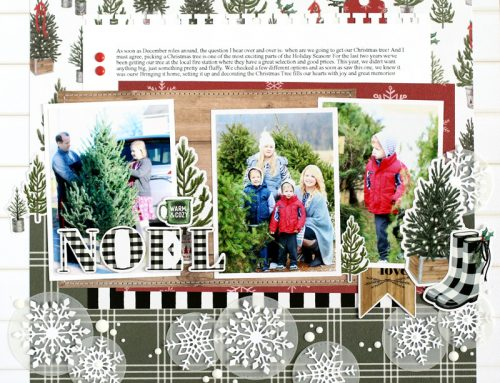 A Festive Farmhouse Christmas Project Round Up with Echo Park Paper