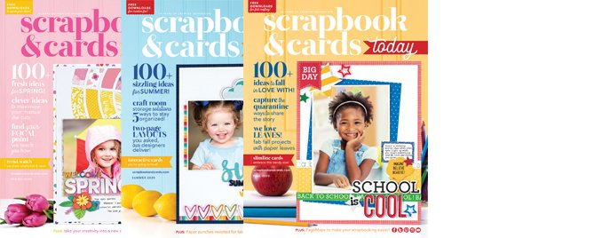 Scrapbook & Cards Today 2020 Covers