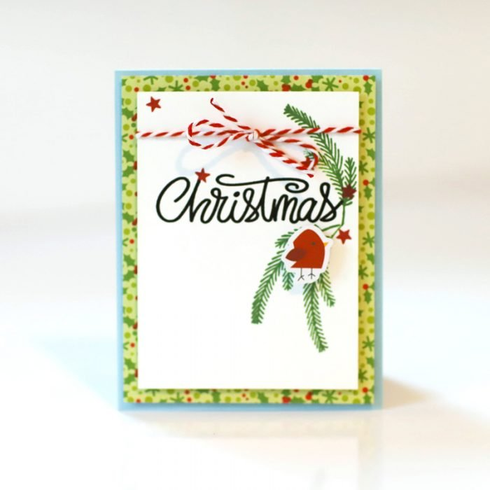 SCT Delivered - Peppermint Express - Christmas Card by Latisha Yoast
