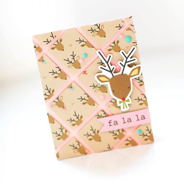 SCT Delivered - Peppermint Express - Falala Card by Latisha Yoast