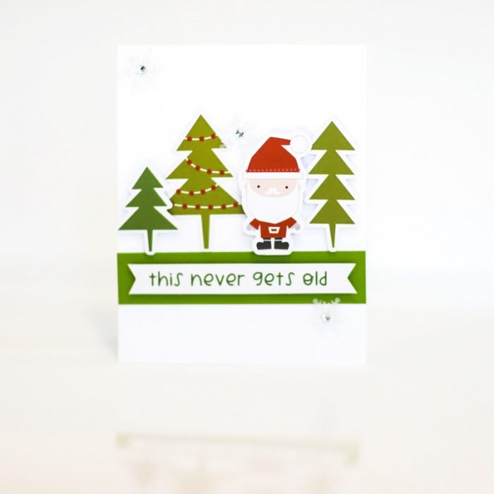 SCT Delivered - Peppermint Express - Never Gets Old Card by Latisha Yoast