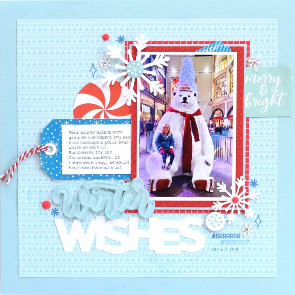 SCT Delivered - Peppermint Express -Winter Wishes by Meghann Andrew