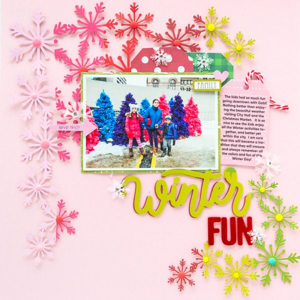SCT Delivered - Peppermint Express - Winter Fun by Nathalie DeSousa