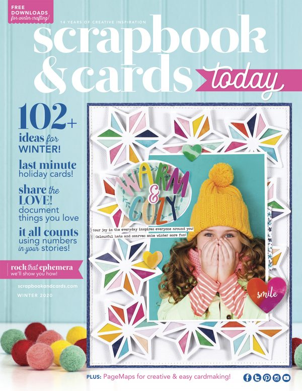 Scrapbook & Cards Today - Winter 2020
