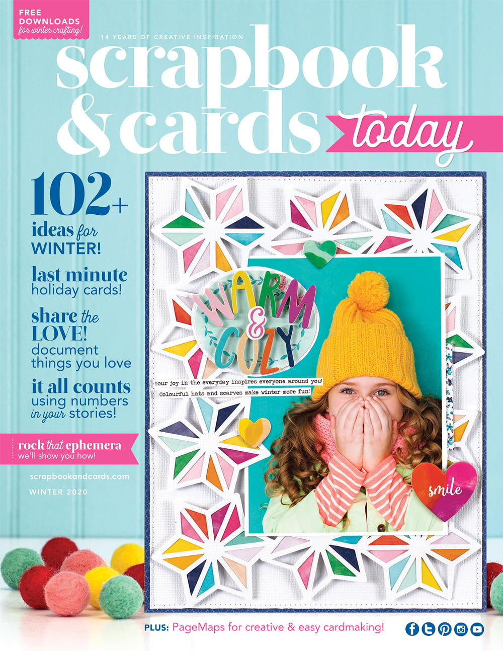 Scrapbook & Cards Today Winter 2020 Issue