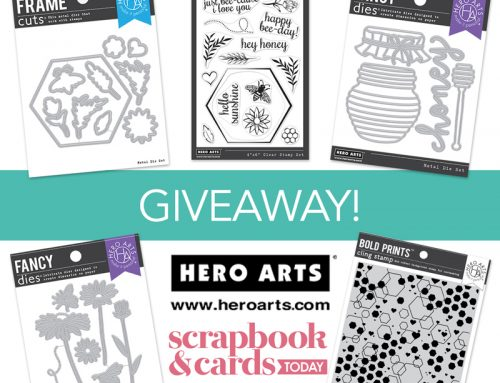 A Hero Arts Giveaway!