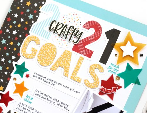 January's Free Cut File and Goal Setting with Meghann Andrew!