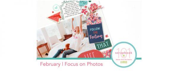 SCT Magazine - Scrapbook 101: BTTB - Feburary Lesson Header